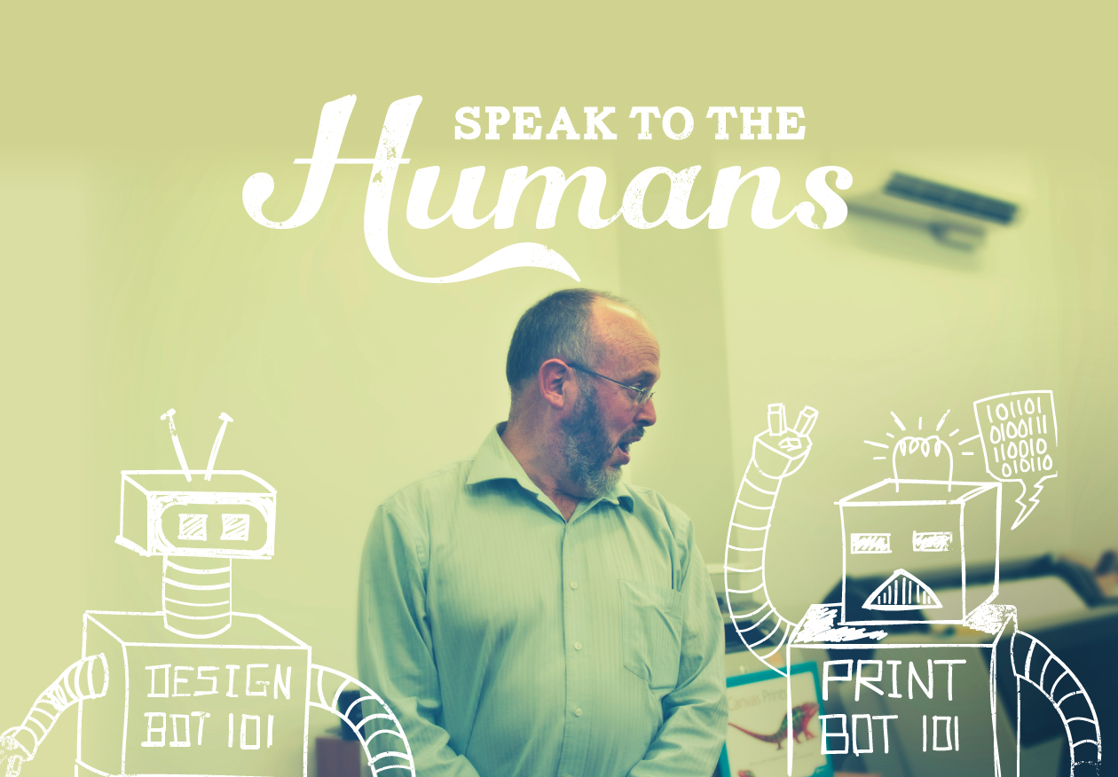 Print Domain, Speak to the Humans not robots