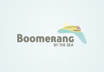 Boomerang by the Sea Logo