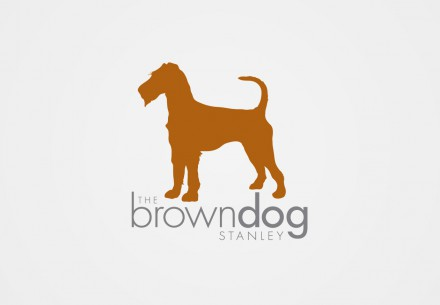 The Brown Dog Stanley Logo